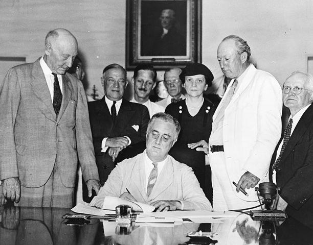 Franklin D. Roosevelt: biografia, presidência e fatos 13