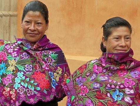 5 Trajes típicos de Chiapas e suas características 1