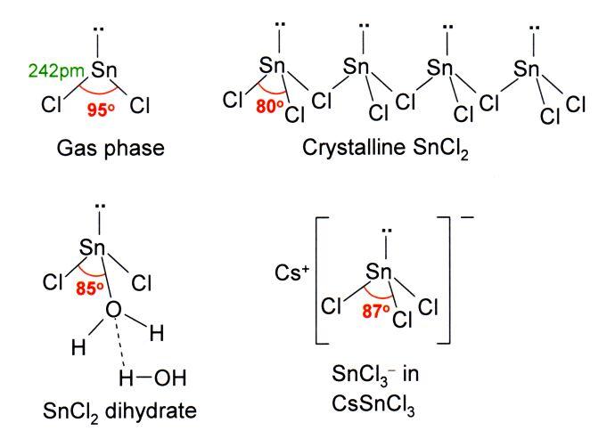 Cloreto de estanho (SnCl2): Propriedades, Estrutura, Usos 1