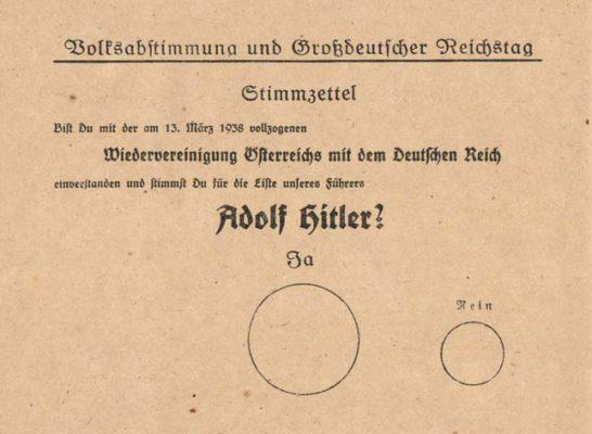 Anschluss: antecedentes, anexação e consequências 1