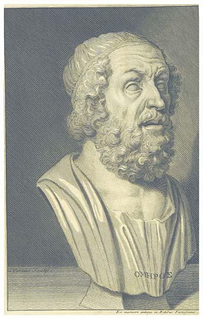 Homer: biografia, obras 4