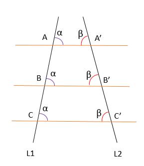 Teorema de Thales de Mileto: Primeiro, Segundo e Exemplos 5