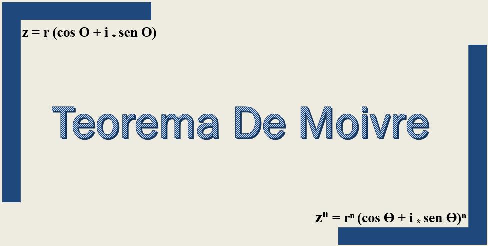 Teorema de Moivre: demonstração e exercícios resolvidos 1