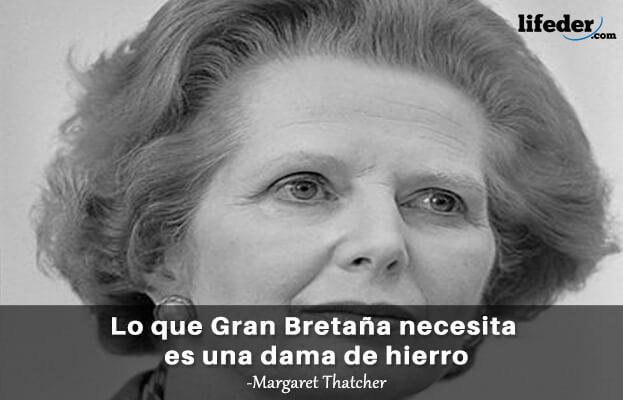As 90 melhores frases de Margaret Thatcher 4