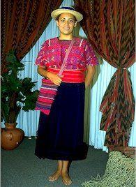 Traje típico de Huehuetenango e suas características 3