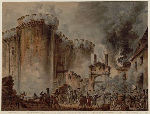 Tomada da Bastilha: causas, desenvolvimento, consequências 1