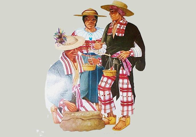Traje típico de Huehuetenango e suas características 1