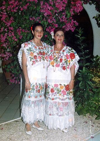 Trajes típicos de Yucatán: características principais 1