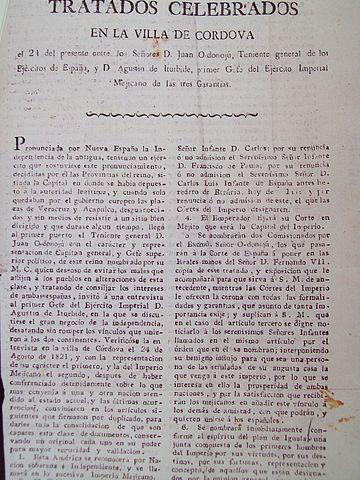 Tratados de Córdoba: antecedentes, objetivos e consequências 1