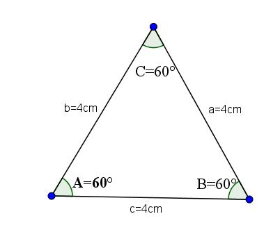 Triângulo agudo: características e tipos 4