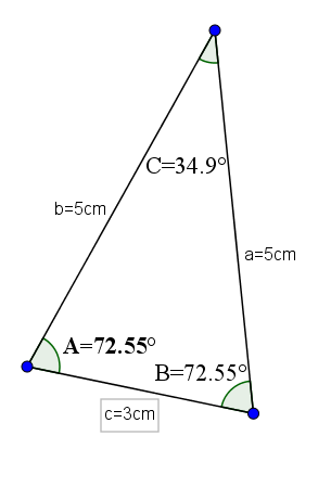 Triângulo agudo: características e tipos 5