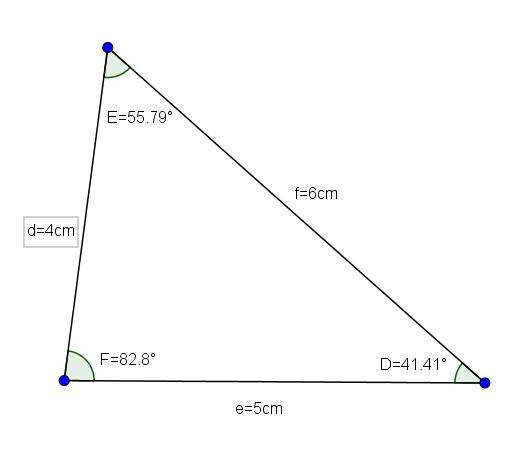Triângulo agudo: características e tipos 6