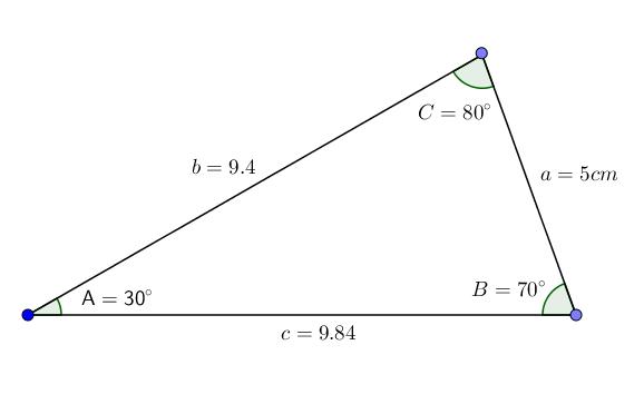Triângulo agudo: características e tipos 7
