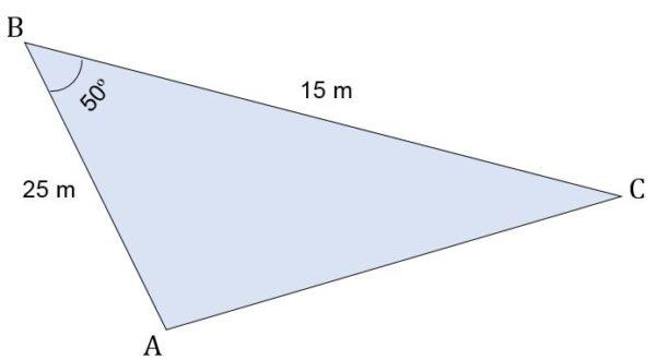 Triângulo escaleno: características, fórmula e áreas, cálculo 11
