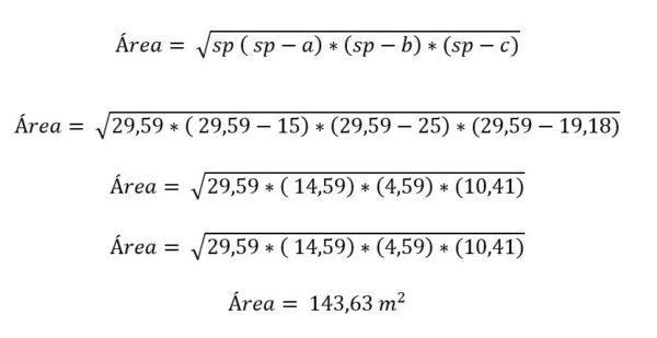 Triângulo escaleno: características, fórmula e áreas, cálculo 12
