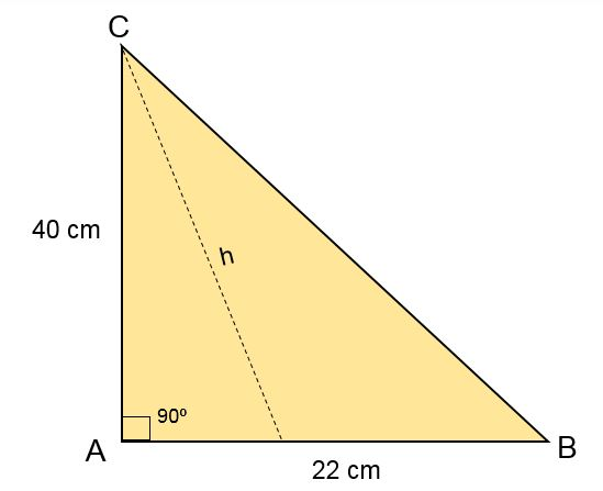 Triângulo escaleno: características, fórmula e áreas, cálculo 13