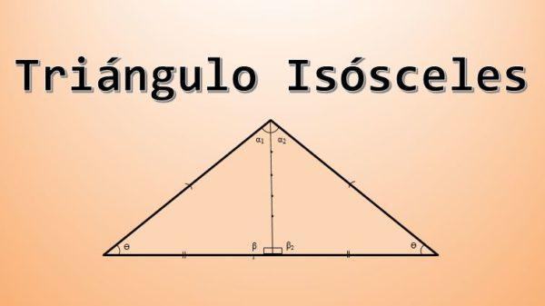 Triângulo isósceles: características, fórmula e área, cálculo 1
