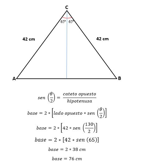 Triângulo isósceles: características, fórmula e área, cálculo 14