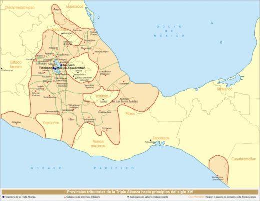 Aliança Tripla (México): antecedentes e mansões independentes 1