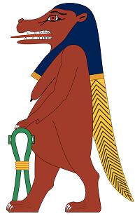 As 20 principais deusas egípcias (nomes mitológicos) 18