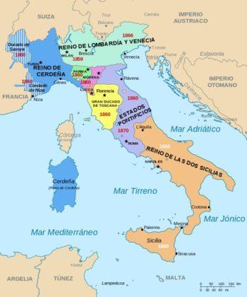 Unificação da Itália: antecedentes, causas, fases, consequências 1