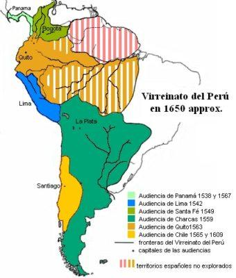 Vice-reinado do Peru: origem, história, organização e economia 1