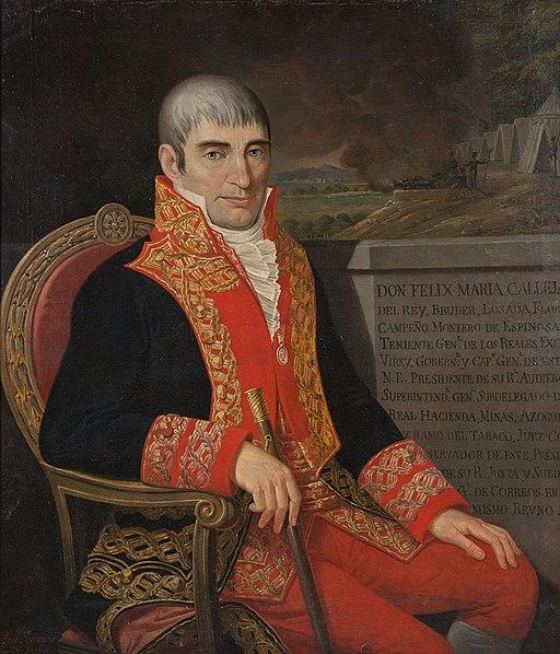 Félix Calleja: biografia de um vice-rei da Nova Espanha 47