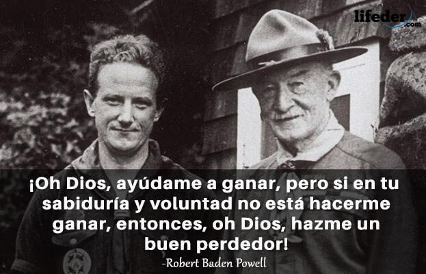 As 100 melhores frases de Robert Baden-Powell 18