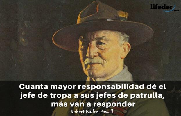 As 100 melhores frases de Robert Baden-Powell 19