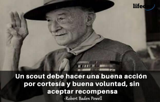 As 100 melhores frases de Robert Baden-Powell 3