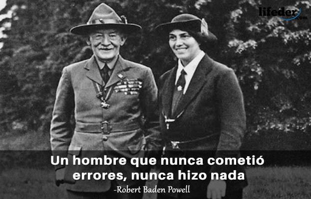 As 100 melhores frases de Robert Baden-Powell 21