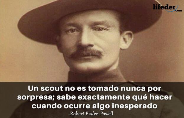 As 100 melhores frases de Robert Baden-Powell 4