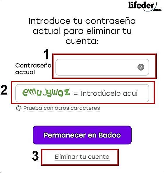 Como cancelar a inscrição no Badoo? 8