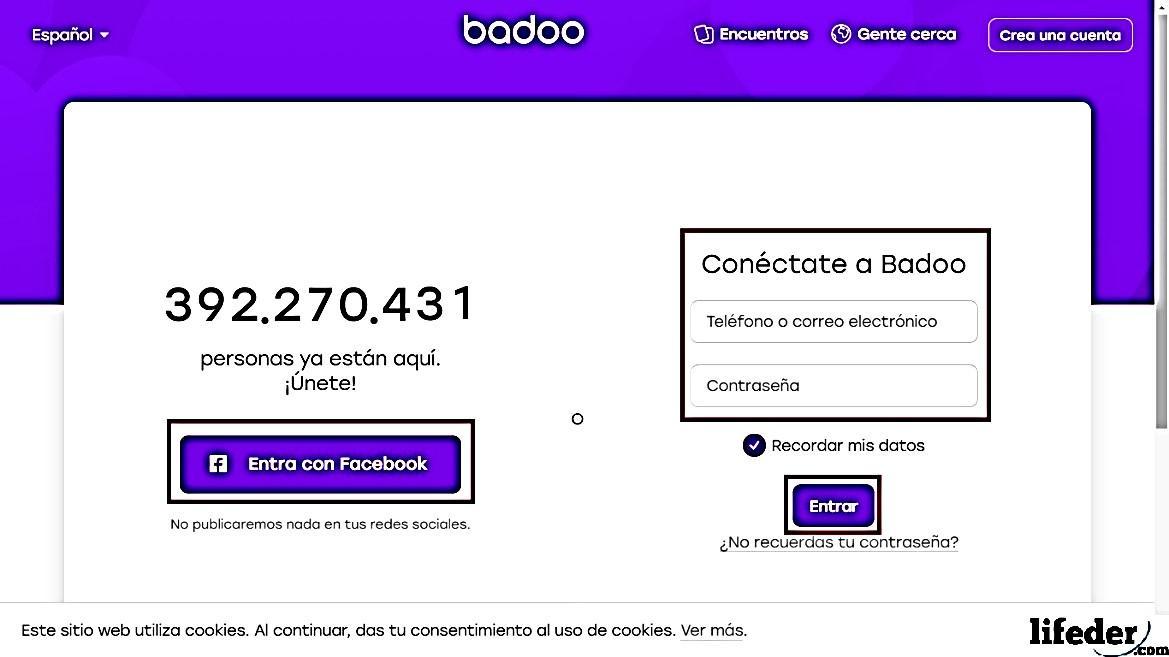 Como cancelar a inscrição no Badoo? 2