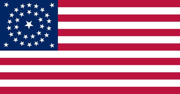 Bandeira dos Estados Unidos: história e significado 13