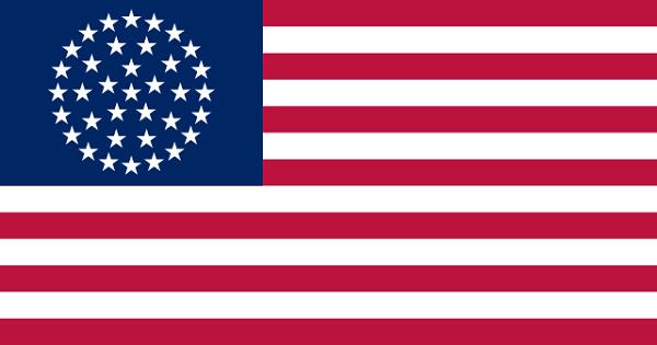 Bandeira dos Estados Unidos: história e significado 14