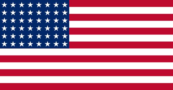 Bandeira dos Estados Unidos: história e significado 16