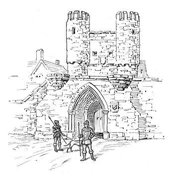 Castelo medieval: partes e funções 6