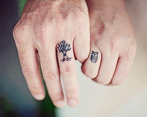30 pequenas tatuagens para olhar na sua pele 24