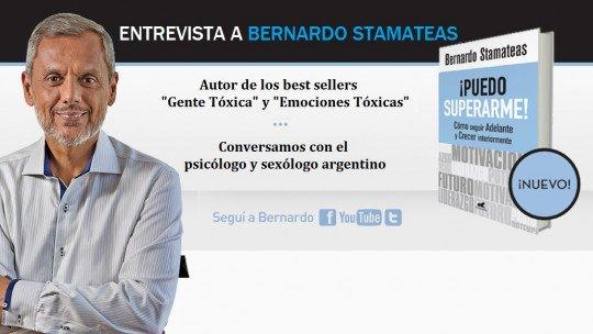 """Entrevista com Bernardo Stamateas, autor de """"Pessoas Tóxicas"""" 1"""