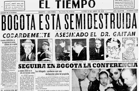 As 7 consequências da frente nacional da Colômbia 2
