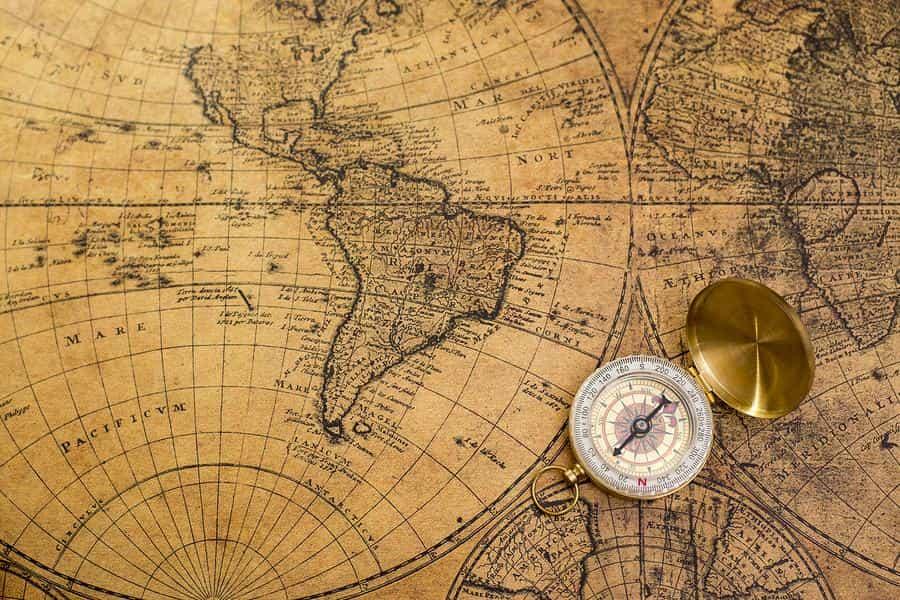 Os 7 tipos de projeções cartográficas 1