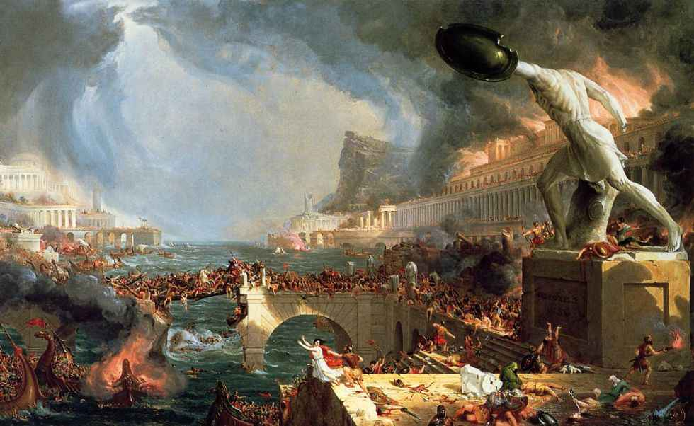 10 Causas da Queda do Império Romano 3