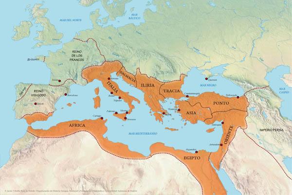 Império Bizantino: Origem, Características Cultura, Economia 1