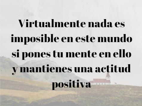 75 frases de atitude positiva para a vida e o trabalho 12