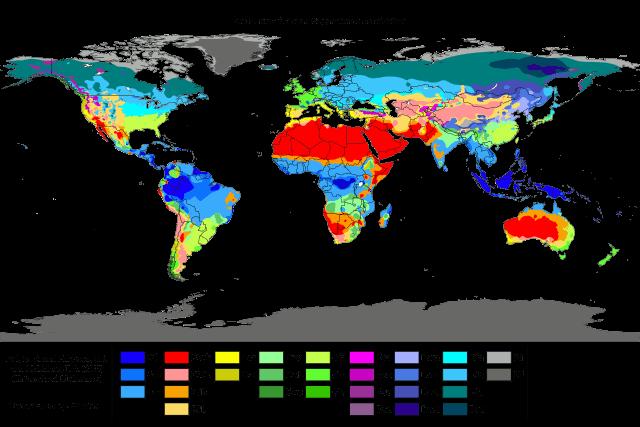 Clima seco: características, tipos, localização 2