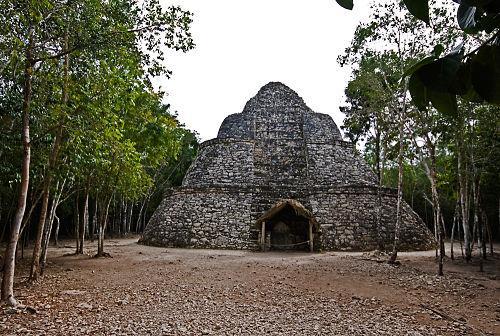Quais eram os centros cerimoniais maias? 1