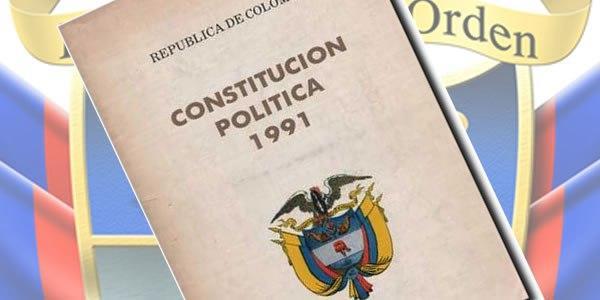 Como está organizada a Constituição Política da Colômbia? 1