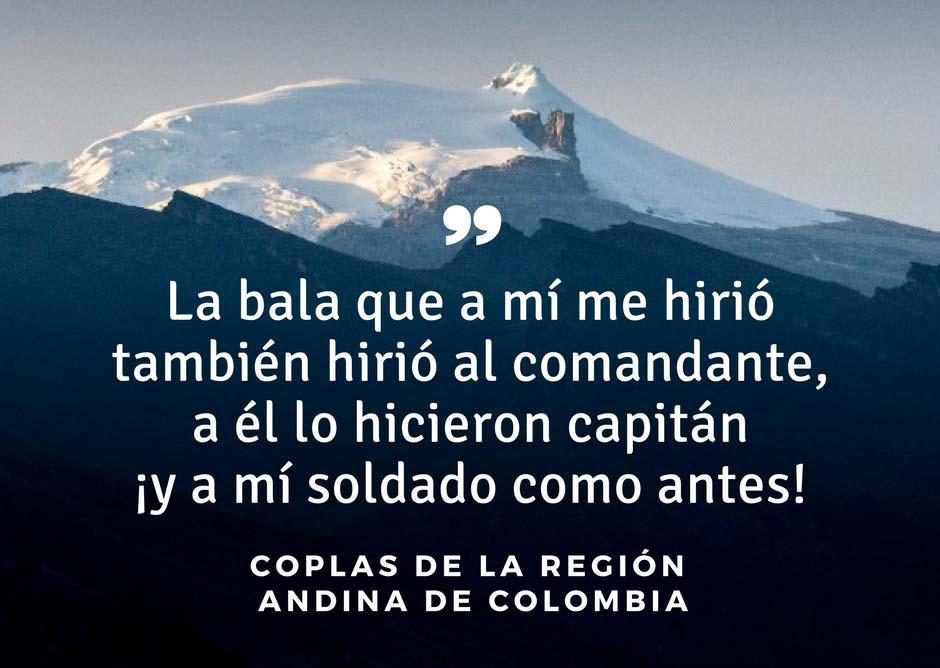 10 Coplas da região andina da Colômbia 1