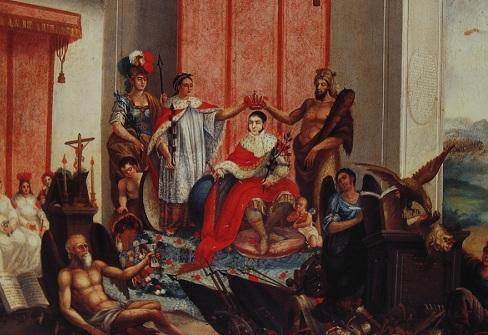 Onde Iturbide foi coroado como Imperador? Quem o apoiou? 1